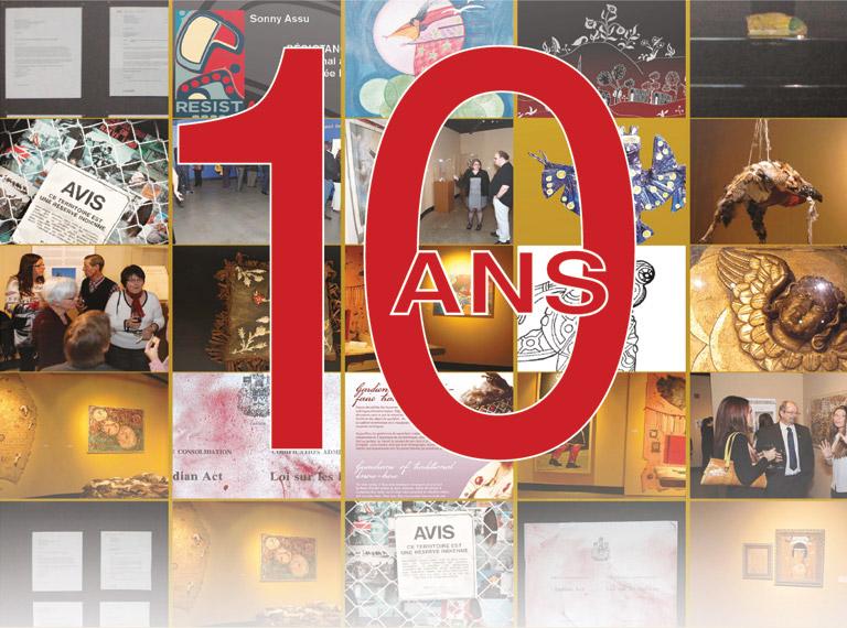 Exposition 10 ans - Musée huron wendat