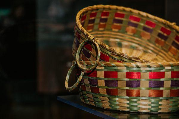 Paniers à fruits, collection huron-wendat - Musée huron-wendat