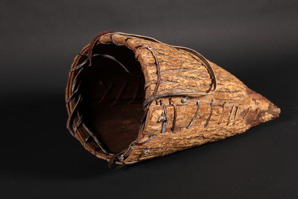 Panier de portage, collection - Musée huron-wendat