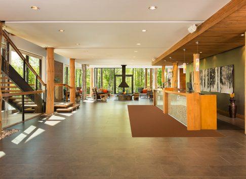 Lobby, hôtel, autochtone - Hôtel-Musée Premières Nations